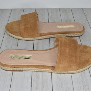 Billini Women's New Size 9 Tan and Cream Sandals